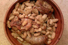 (file pic) Bouchon's cassoulet was far from authentic