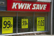Kwiksave: one of the UK's cheaper supermarkets
