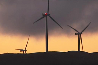 Many residents are moving away to escape the noise of the wind farm