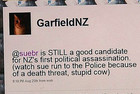 Henk Van Helmond admits GarfieldNZ is his Twitter account