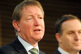 Nick Smith and John Key (NZPA)