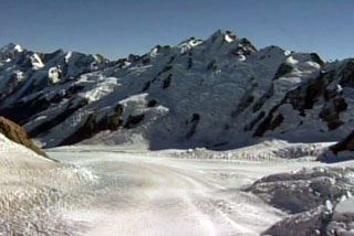 NZ's glaciers have halved in size in the last century