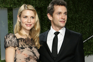 Claire Danes with husband Hugh Dancy (Reuters)