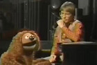 John Denver (R) with a Muppet