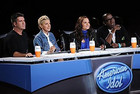 American Idol judges Simon Cowell, Ellen DeGeneres, Kara DioGuardi and Randy Jackson (Fox)