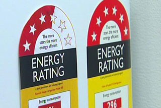 The average appliance will lose two stars, as newer appliances get better at conserving energy