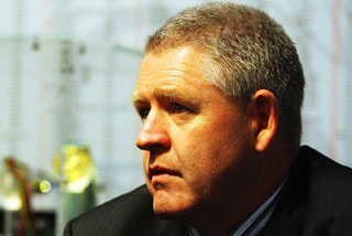 NZRU chief executive Steve Tew (Photosport)