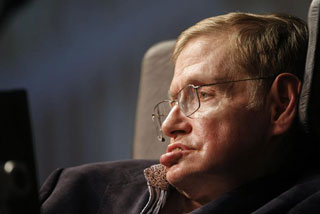 Stephen Hawking says there are aliens out there, but it is too dangerous for humans to interact with them (Reuters)