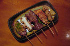 If you're uneasy about sharing finger food with your dinner date(s), yakitori is probably not for you
