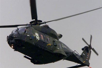 The nine NH-90 helicopters cost more than $60 million each (Reuters file)