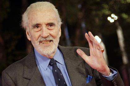 Christopher Lee (Reuters)