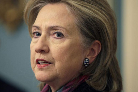 US Secretary of State Hilary Clinton (Reuters)