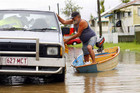 "Rescue teams in Rockhampton won't be bringing food by boat to the ""stubborn stay ons"""