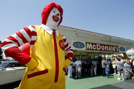 McDonald's has come under fire for blocking gay news sites