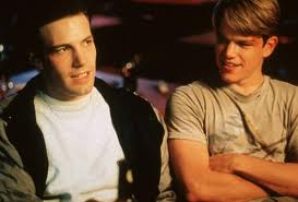 Ben Affleck and Matt Damon in Good Will Hunting