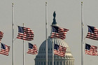 Flags fly at half staff in observance of Pearl Harbor Day in Washington (Reuters file)