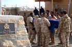 The body of Private Kirifi Mila is expected to be in New Zealand next week (NZDF)