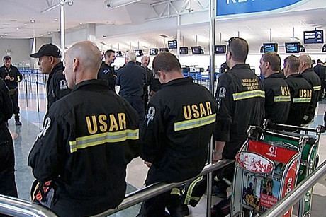 The second NZ USAR team on their way to Japan 