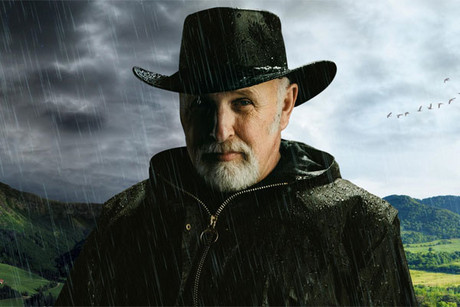 Ken Ring, as he appears on the cover of his book, Predict Weather: 2011