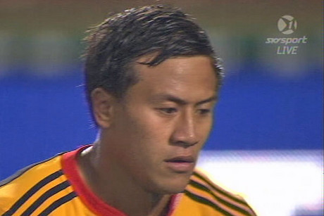 Tim Nanai-Williams had to kick the first penalty goal with Donald injured