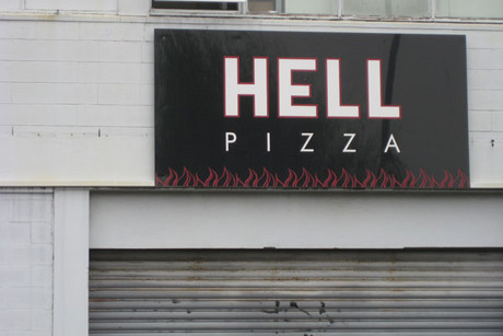 Hell is well-known for its advertising stunts