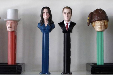 Kate and Wills pez dispensers