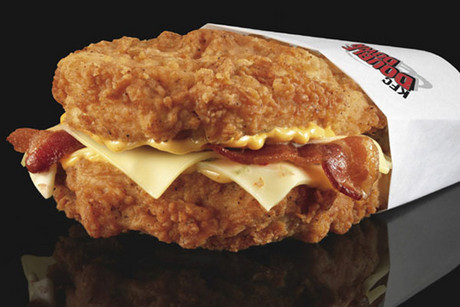 The KFC Double Down burger