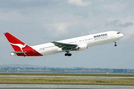 There are no reports of injuries on board the flight (NZPA, file)