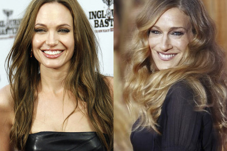 Angelina Jolie and Sarah Jessica Parker (Reuters images)