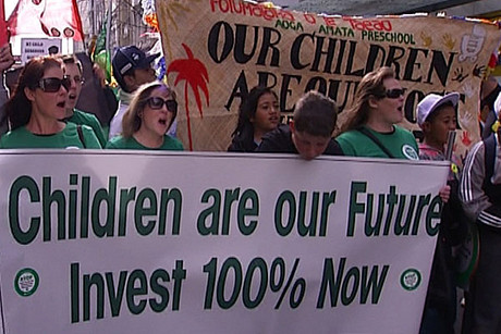 2000 preschools and kindergartens lose funding to pay for qualified teachers
