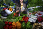 The price of fruit and vegetables has risen 12.2 percent (Reuters file)