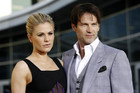 Anna Paquin and Stephen Moyer (Reuters file)