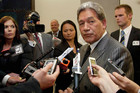 Winston Peters has yet to announce which electorate he will stand in (file)