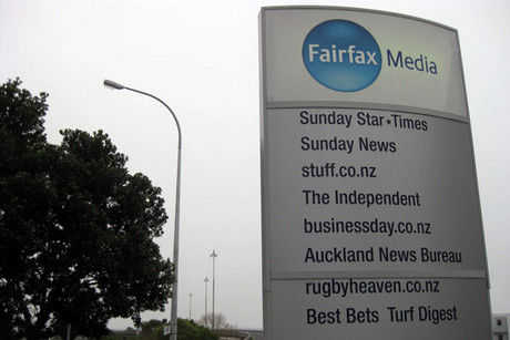 Fairfax's Auckland offices