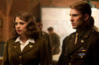 Hayley Atwell and Chris Evans in Captain America: The First Avenger