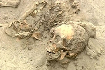 The bodies were found near the ancient city of Chan Chan