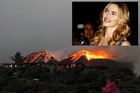 Kate Winslet and the fire