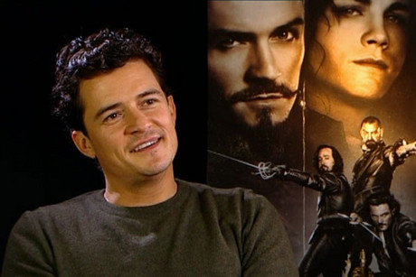 Orlando Bloom plays the Duke of Buckingham in the new Three Musketeers film