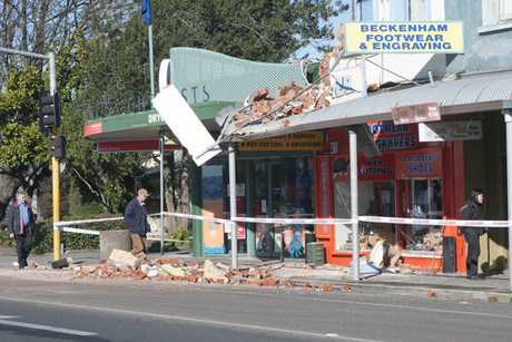 The magnitude 4.4 tremor was located 20 kilometres west of Christchurch