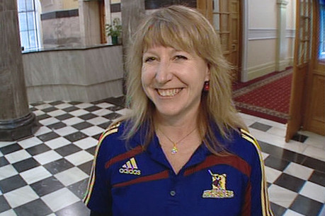Labour's Dunedin South MP Clare Curran wore the original jersey to Parliament in protest and was kicked out of the House 