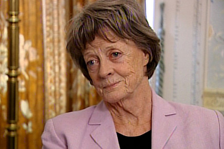 Dame Maggie Smith is going to help raise the $4.6 million needed