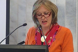 Outgoing Green Party MP Sue Kedgley has taken a pa...