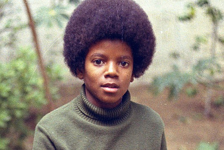 A young Michael Jackson