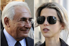 Combination of pictures show former IMF chief Dominique Strauss-Kahn (L) and French writer Tristane Banon (Reuters)