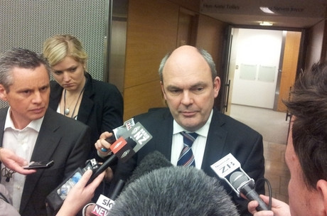 "Transport Minister Steven Joyce says MSC needs to ""step up"" and help pay for the clean-up"