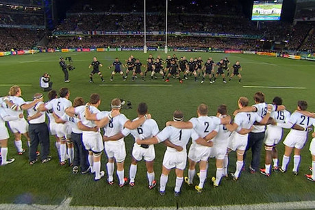 the IRB has fined the French team $20,000 for its response to the haka