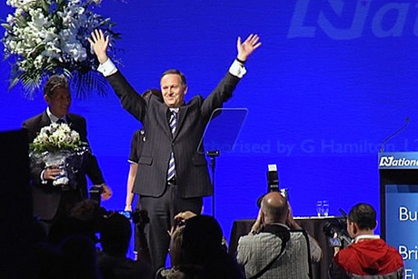 John Key at the launch
