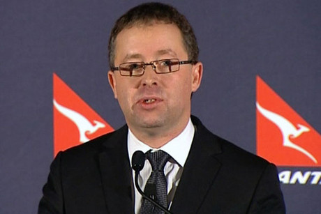 Qantas chief executive Alan Joyce 