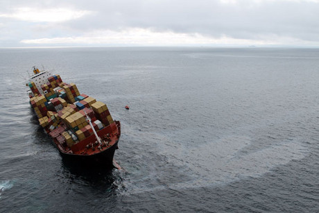 The grounding of container ship Rena has played a part in the surprise result (AAP)