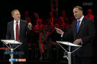 John Key and Phil Goff went head to head in the TVNZ debate this evening